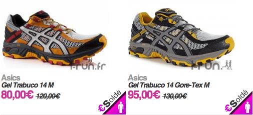asics chaussure trail