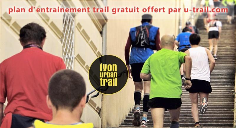 Plan d'entrainement gratuit pour le Lyon Urban Trail