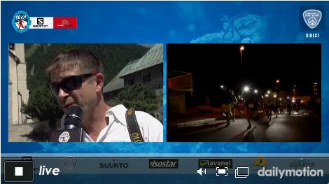 La télé du marathon du Mont Blanc en streaming sur uTrail