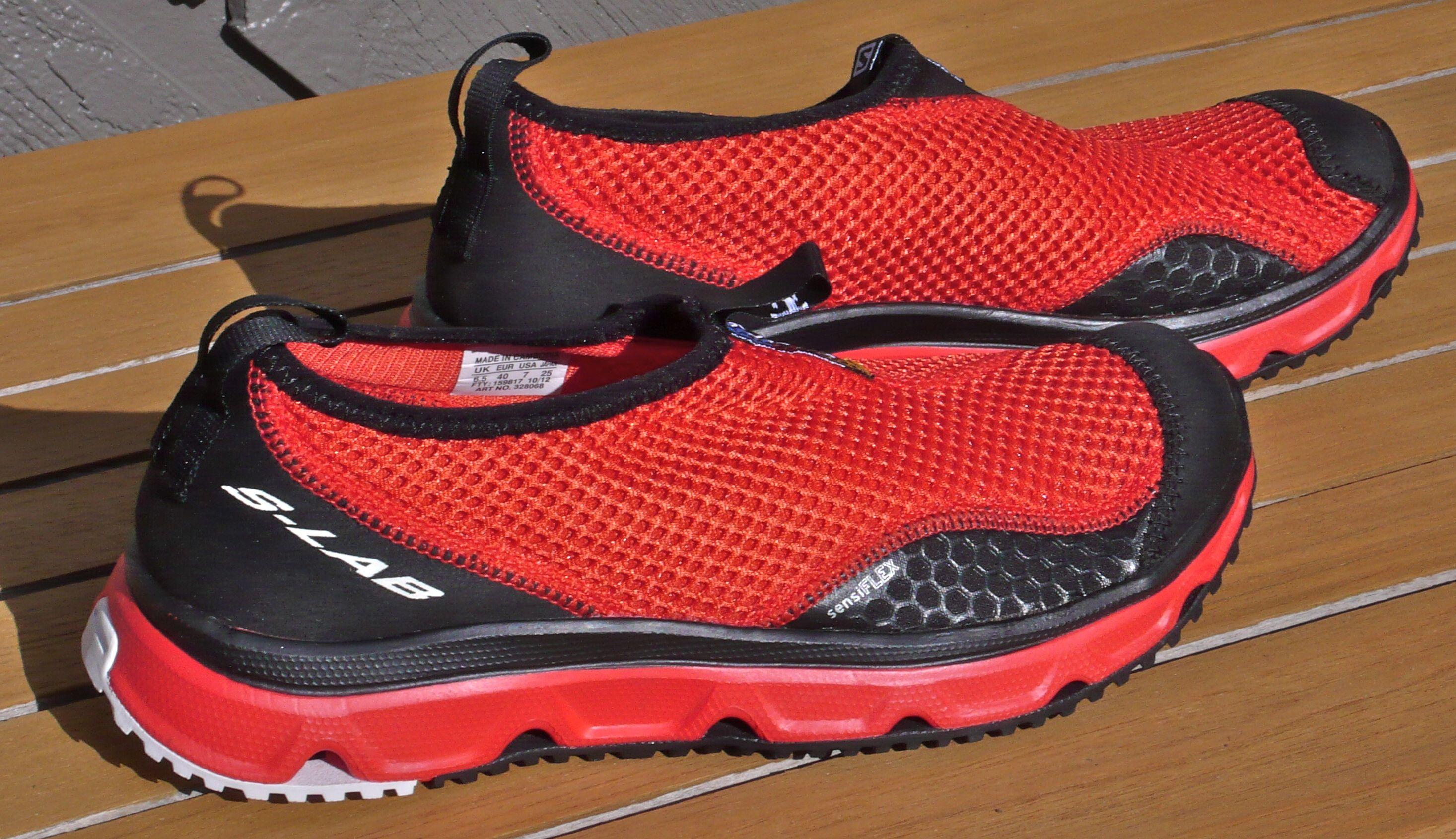 chaussures salomon recuperation