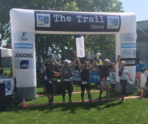 Résultat The Trail Sens : victoire de Ludovic Pollet