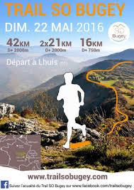 Résultat Trail SO Bugey et informations 2016